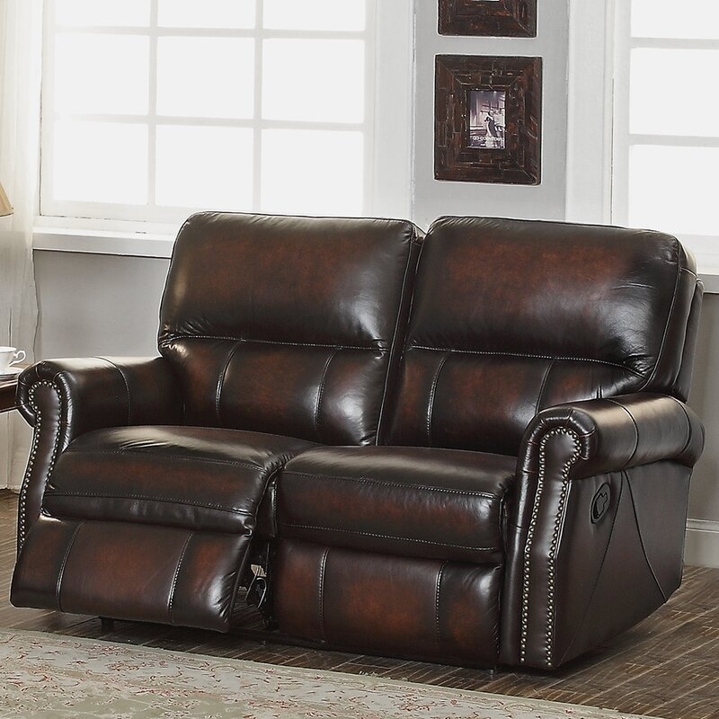 Amax Nevada 3 Piece Leather Living Room Set Reviews Wayfair