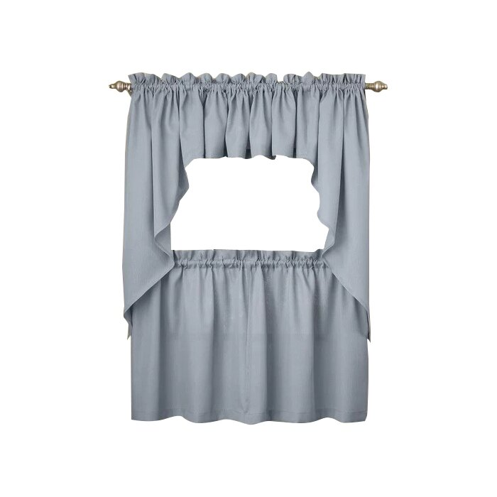 Ennis Kitchen Tier Cafe Curtain