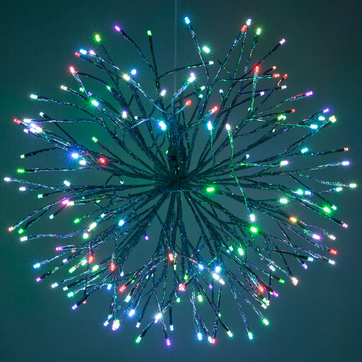 Charming The Holiday Aisle LED Twinkle Light Indoor/Outdoor Starburst Branches Strobe  Lighting With Hook | Wayfair