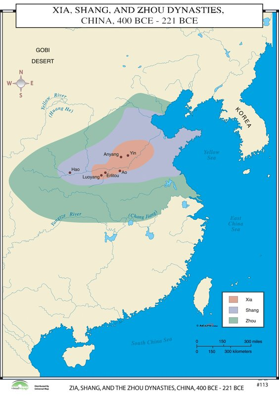 Universal map world history wall maps xia shang zhou world history wall maps xia shang zhou dynasties sciox Image collections