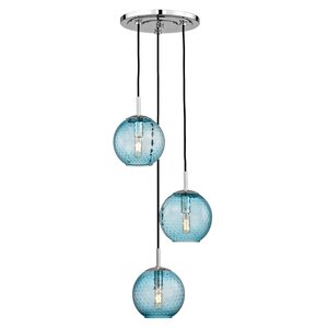 Saltford 3 Bowl Light Globe Pendant