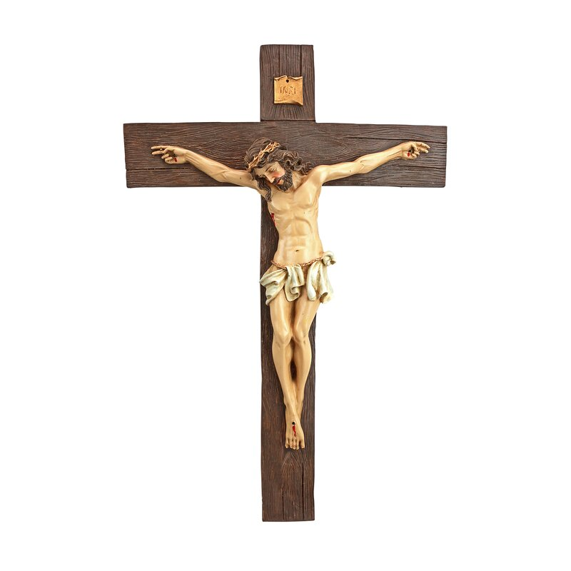 Design Toscano Crucifixion of Christ Cross Wall Décor & Reviews ...