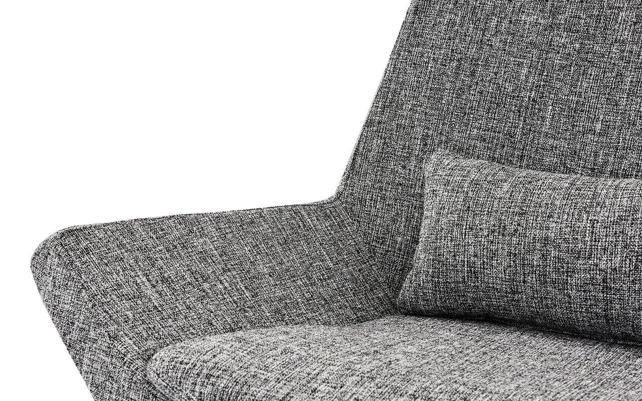 Wrought Studio Sease Modern Linen Living Room Lounge Chair ...