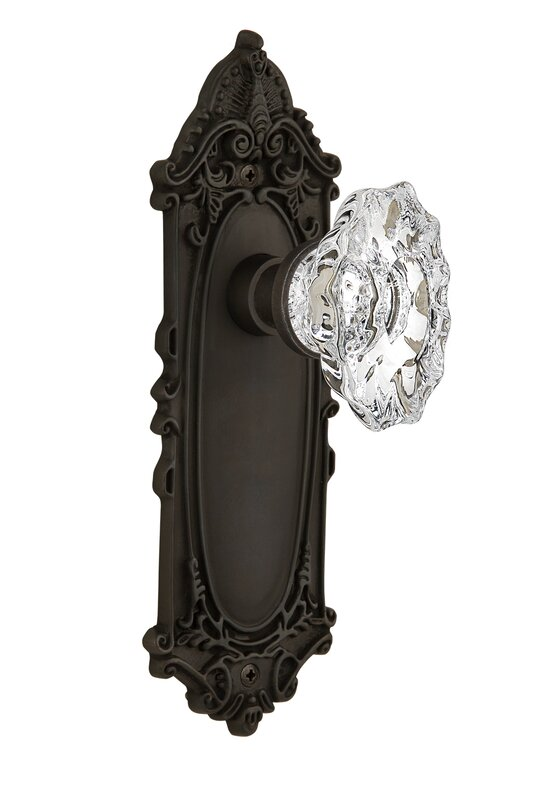 Nostalgic Warehouse Chateau Double Dummy Door Knob with Victorian ...