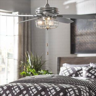 Ceiling lights youll love wayfair 52 kyla 5 blade ceiling fan mozeypictures