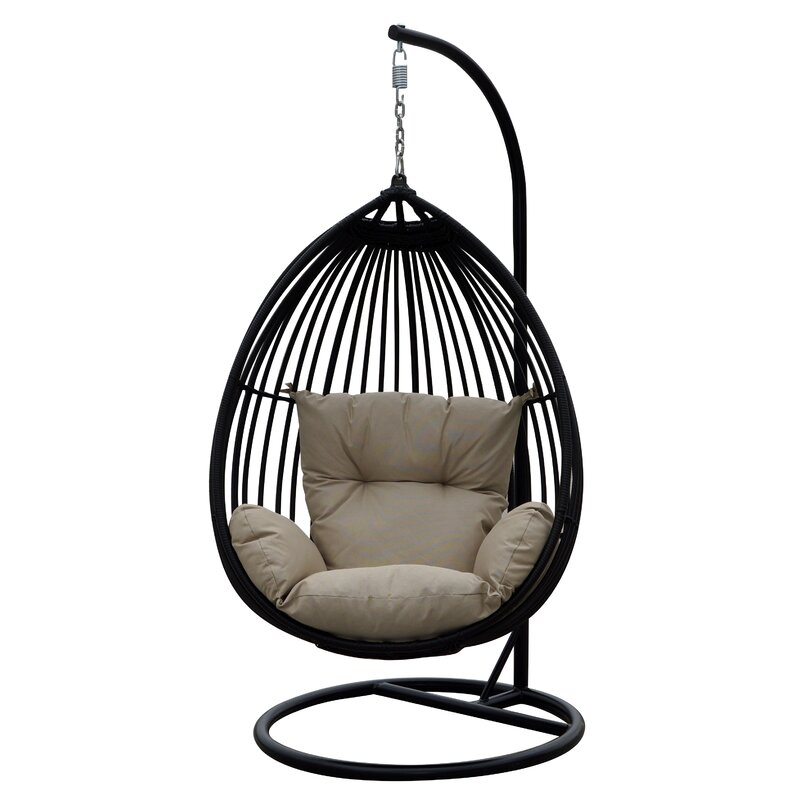 Audra Swing Chair with Stand & Reviews | Joss & Main