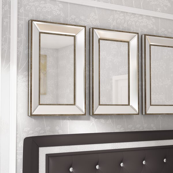 Willa Arlo Interiors Corrinne Rectangle Accent Wall Mirror Reviews