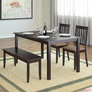 4 piece dining set faux granite dining table dunster piece dining set wayfair