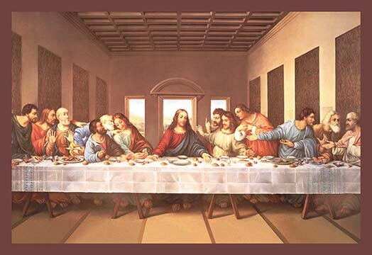 Buyenlarge The Last Supper By Michaelangelo Painting