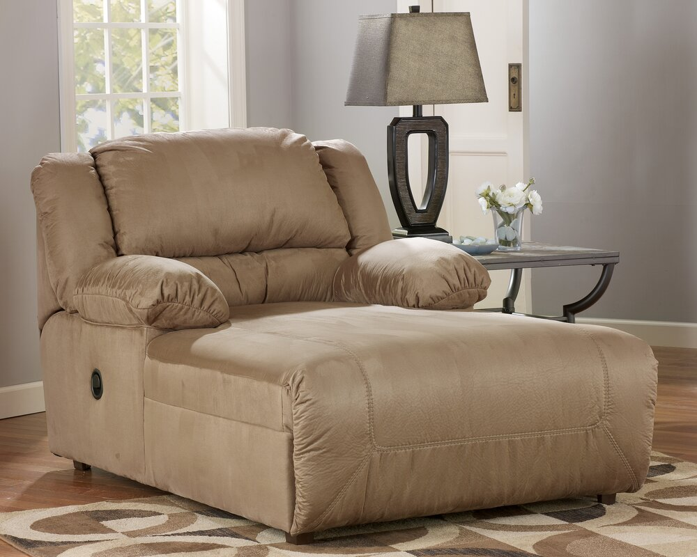 Indoor Double Chaise Lounge Wayfair