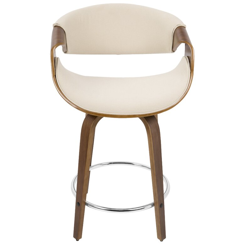 Auburn 24 Swivel Bar Stool Reviews Allmodern