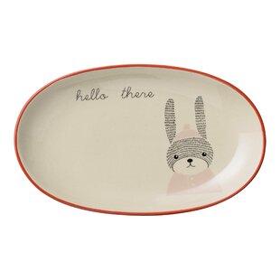 Joesph 8.5  Salad or Dessert Plate (Set of 4)  sc 1 st  Wayfair & Bunny Plates | Wayfair