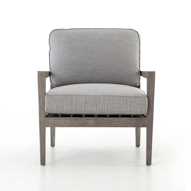 Patio Furniture Northville Mi.Atrakchi Teak Patio Chair With Cushions