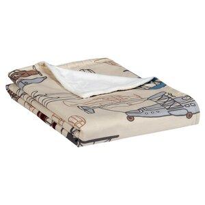 Aeroplanes Stroller Blanket