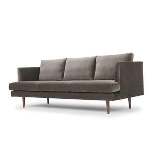 Modern Velvet Sofas + Couches | AllModern