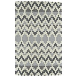 Chiana Hand-Tufted Gray Area Rug