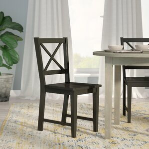 sally cross back side chair set of 2 - Wayfair Dining Chairs