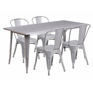 Dimitri Rectangular 5 Piece Dining Set