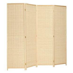 Bamboo Paper Room Divider Wayfair