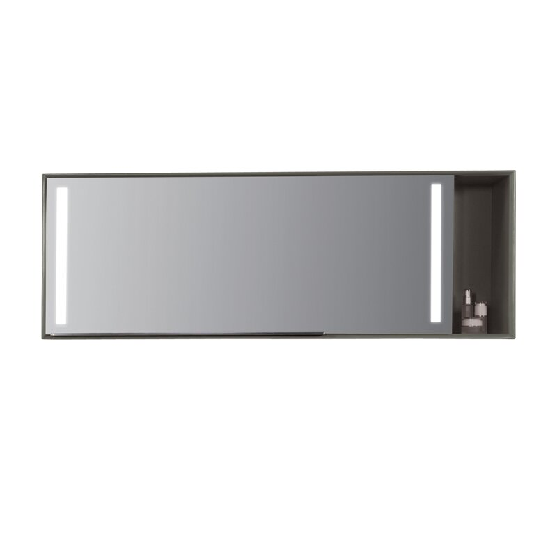 Stack Mirror 54 X 19 7 Surface Mount Medicine Cabinet