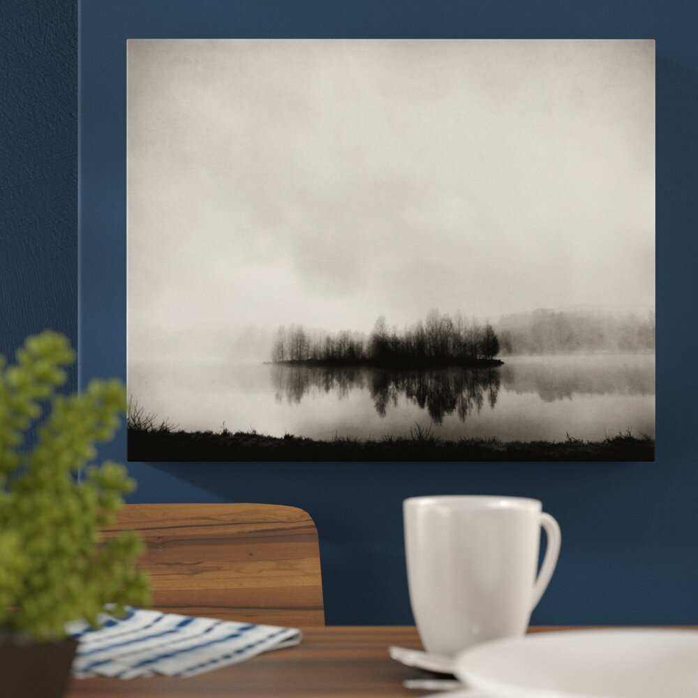 Isle of Silence Photographic Print on Wrapped Canvas