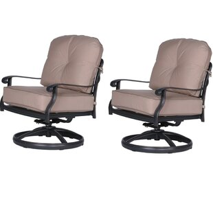 Bean Club Patio Chair With Cushion (Set Of 2)