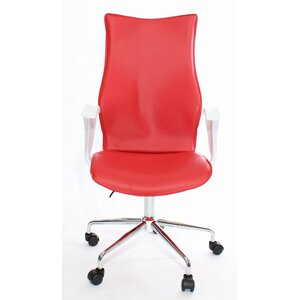 Bürostuhl mit hoher Rückenlehne von Charles Jacobs