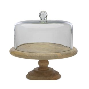 Recycled Glass Dome Cake Stand  sc 1 st  Wayfair & Glass Dome Cake Stand | Wayfair.co.uk