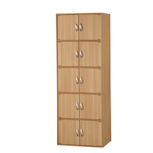10 Door Storage Accent Cabinet