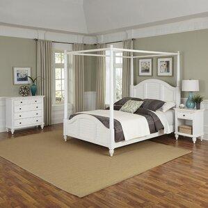 mahogany bedroom furniture. Harrison Canopy 3 Piece Mahogany Bedroom Set Coastal Sets You ll Love  Wayfair