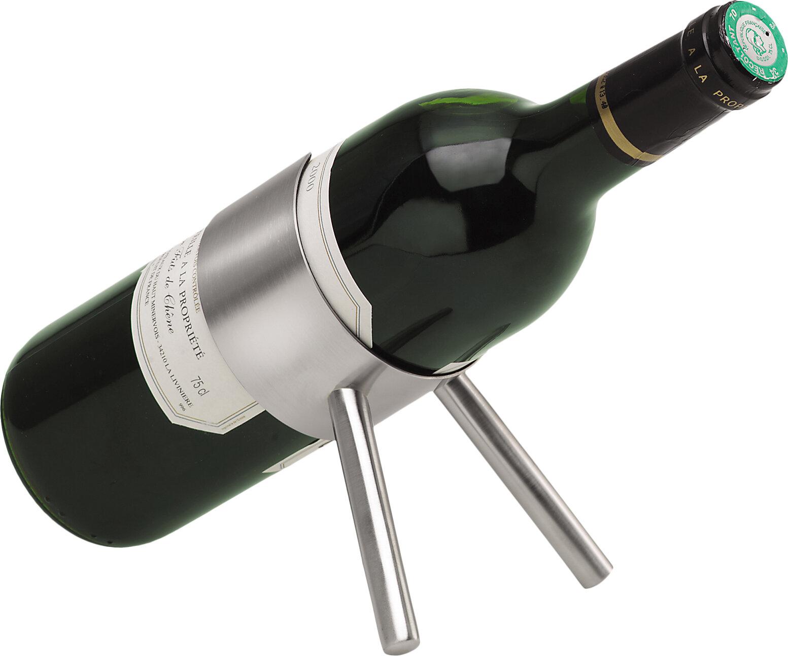 Cino 1 Bottle Tabletop Wine Rack Reviews Allmodern