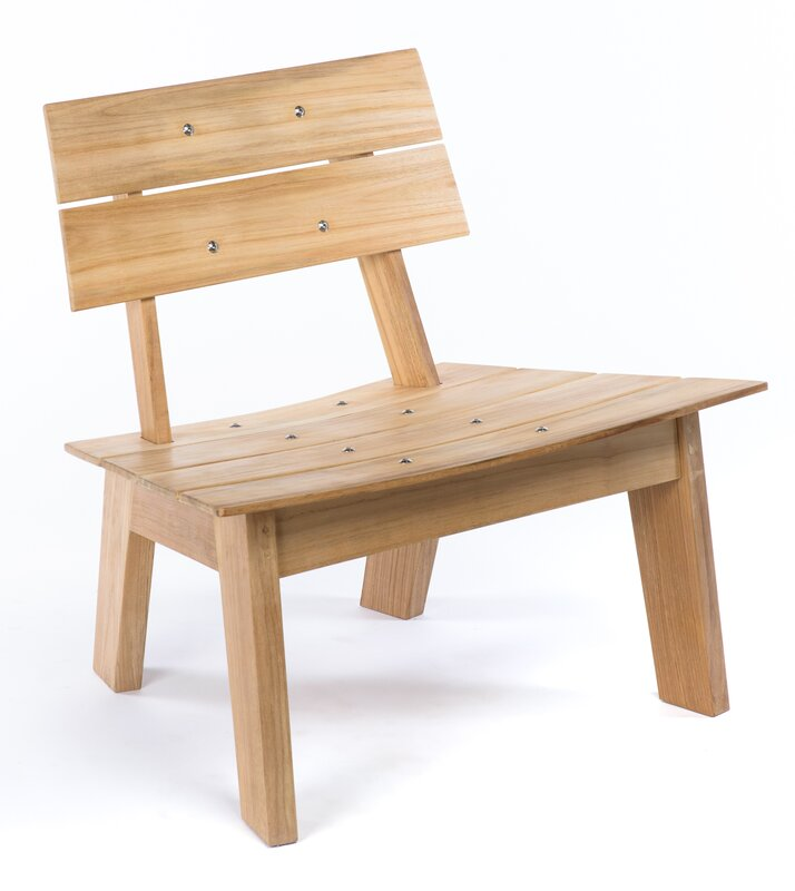 Luna Solid Wood Adirondack Chair