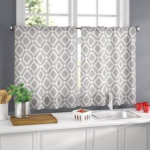 Wrought Studio Valances & Kitchen Curtains You\'ll Love | Wayfair