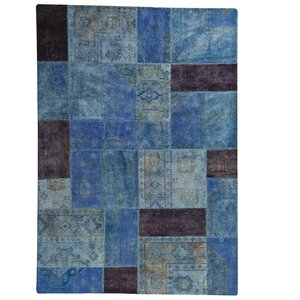 Renaissance Hand-Knotted Light Blue Area Rug