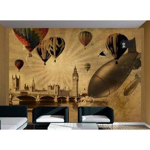 Hot Air Balloon Race 2.45m x 350cm Wallpaper