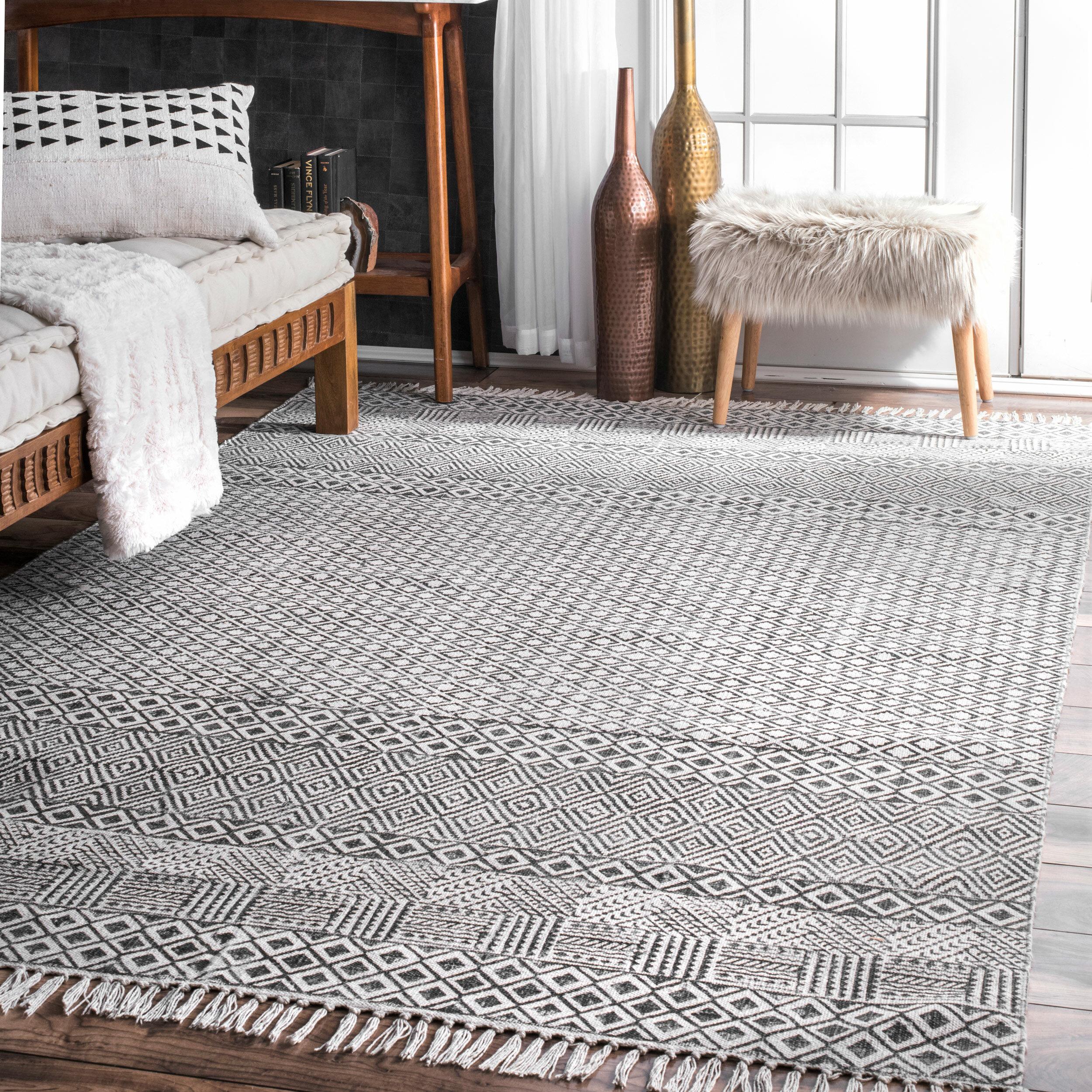 ivory cotton gray rug froy indigo shag products area arizona batik