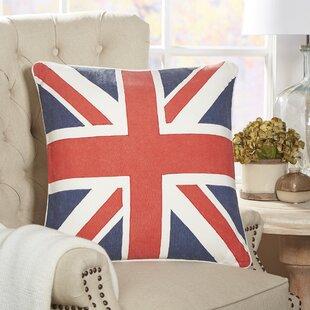 Charmant British Flag Fleet Pillow Cover