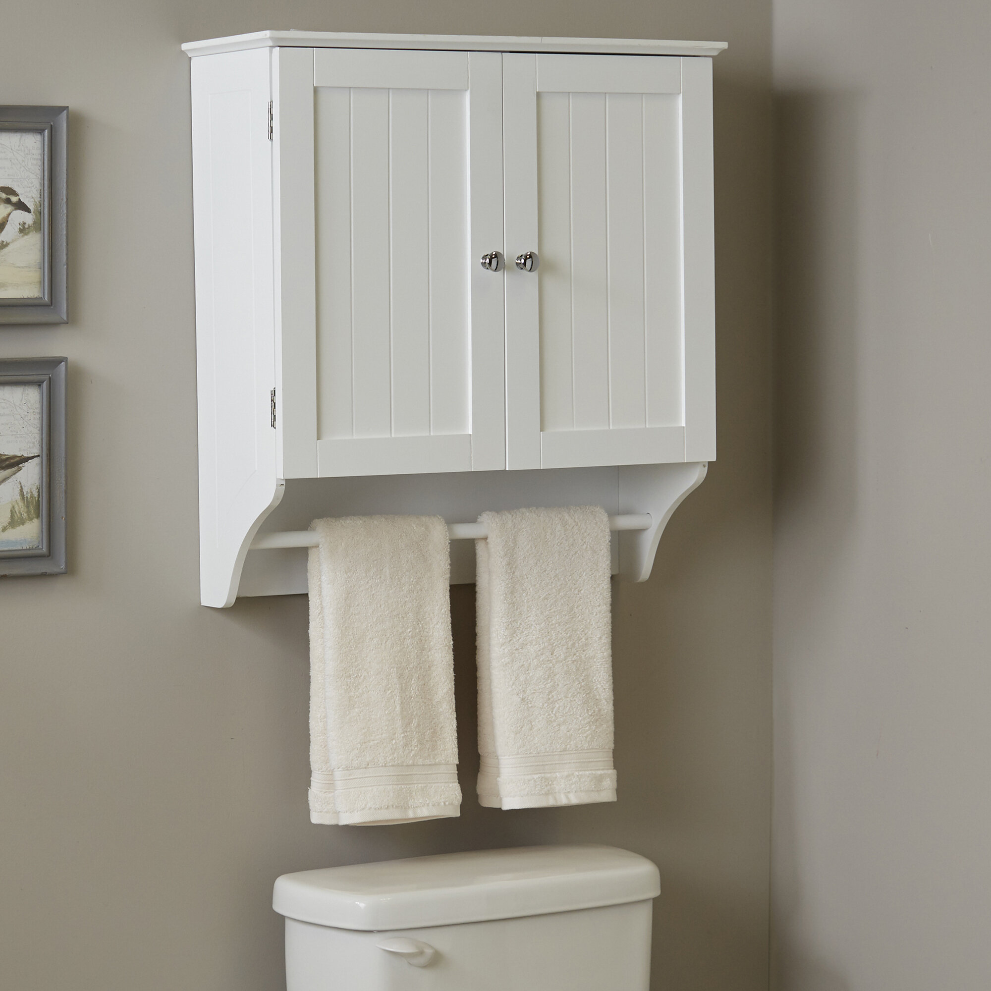 Wall Mounted Bathroom Cabinets You\'ll Love | Wayfair