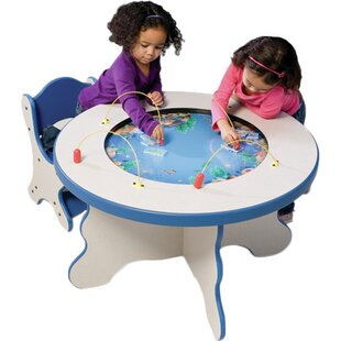 Seascape Kids Round Activity Table