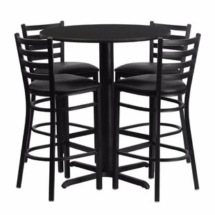 Prentice 5 Piece Pub Table Set