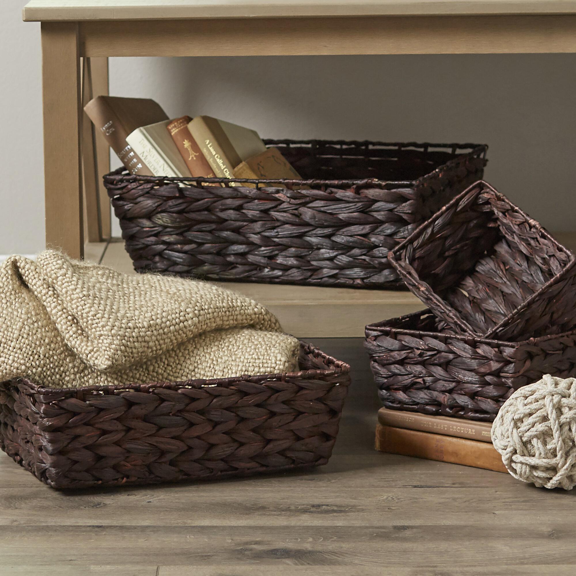 & Birch Lane™ Bamboo Wicker Baskets u0026 Reviews | Birch Lane