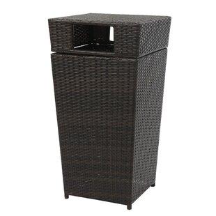trash can furniture double mayfair 185 gallon trash can wood kitchen cabinet wayfair