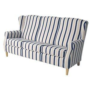 3-Sitzer Sofa Lorris Streifen von Max Winzer