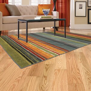 Bartlett Las Cazuela Blue/Orange Area Rug