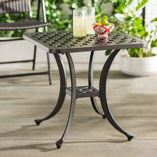 metal outdoor side table Metal Patio Side Tables You'll Love | Wayfair metal outdoor side table