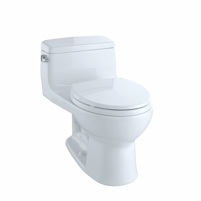 Toto Supreme Eco 128 Gpf Round One Piece Toilet Seat Included