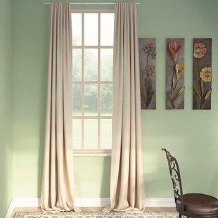 Front Door Curtain Panel | Wayfair