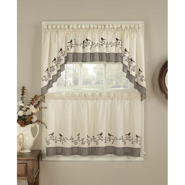 Birdhouse Kitchen Curtains New Inspiration Design