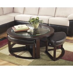 Furniture Coffee Tables darby home co eastin 5 piece coffee table and stool set & reviews