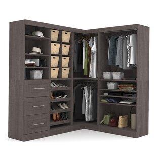 Modern Contemporary Corner Closet Storage
